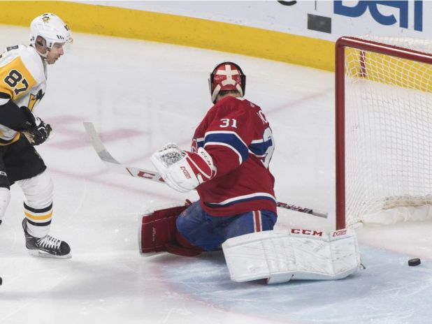 Habs game report: Penguins suck air out of Bell Centre with three goals on four shots, win 5-1 — Montreal Gazette