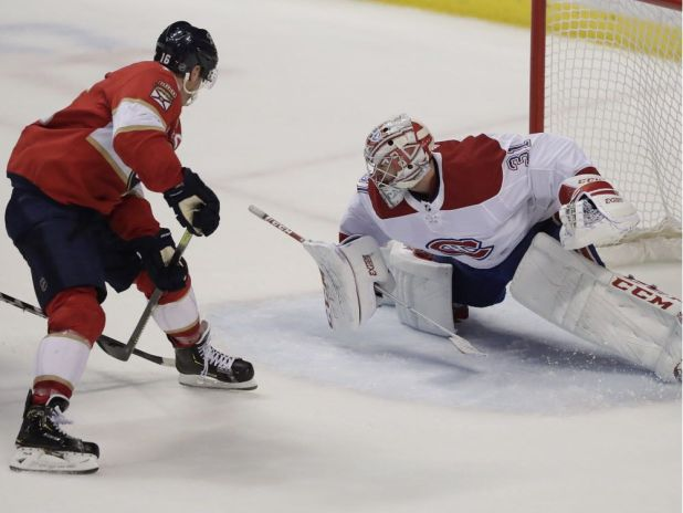Barkov and Panthers take advantage of shaky Niemi to beat Canadiens 6-3 — Montreal Gazette