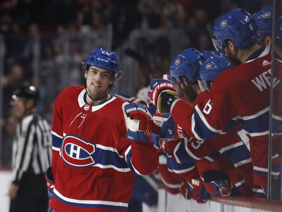 Ryan Poehling makes a spectacular debut with Canadiens in 6-5 SO win over Leafs — Montreal Gazette