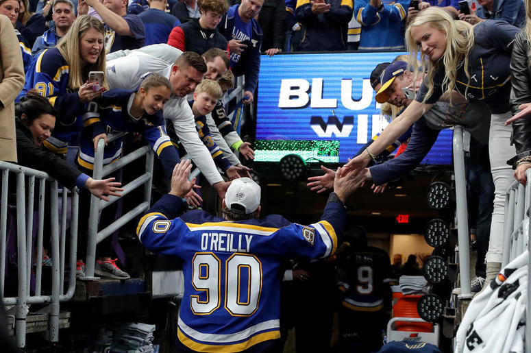 St. Louis Blues' Stanley Cup Win -GLORIA