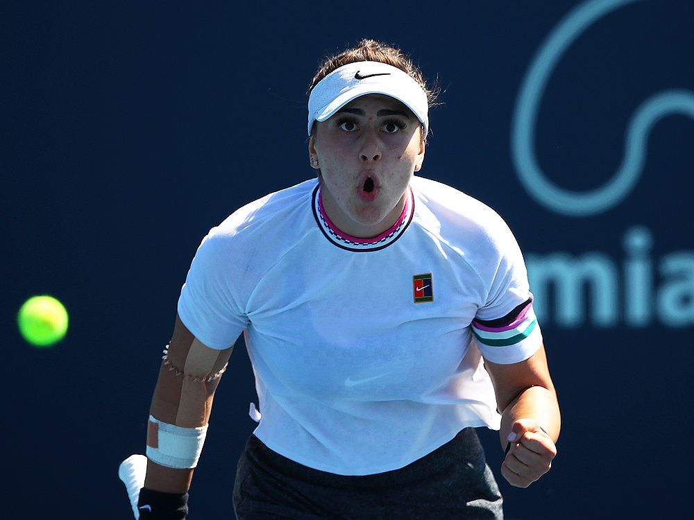 Canada's Bianca Andreescu, Felix Auger-Aliassime advance to third round in Miami — Canoe