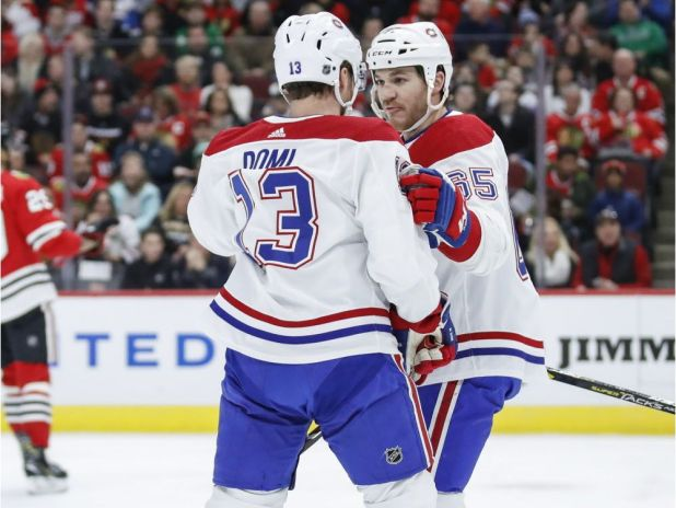 Canadiens' Andrew Shaw found it fun playing against former teammate and friend Jonathan Toews — Montreal Gazette