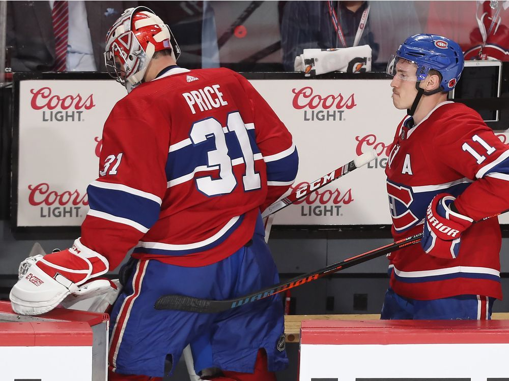 In the Habs' Room: 'Let's cut the chase, I wasn't very good,' Price says — Montreal Gazette