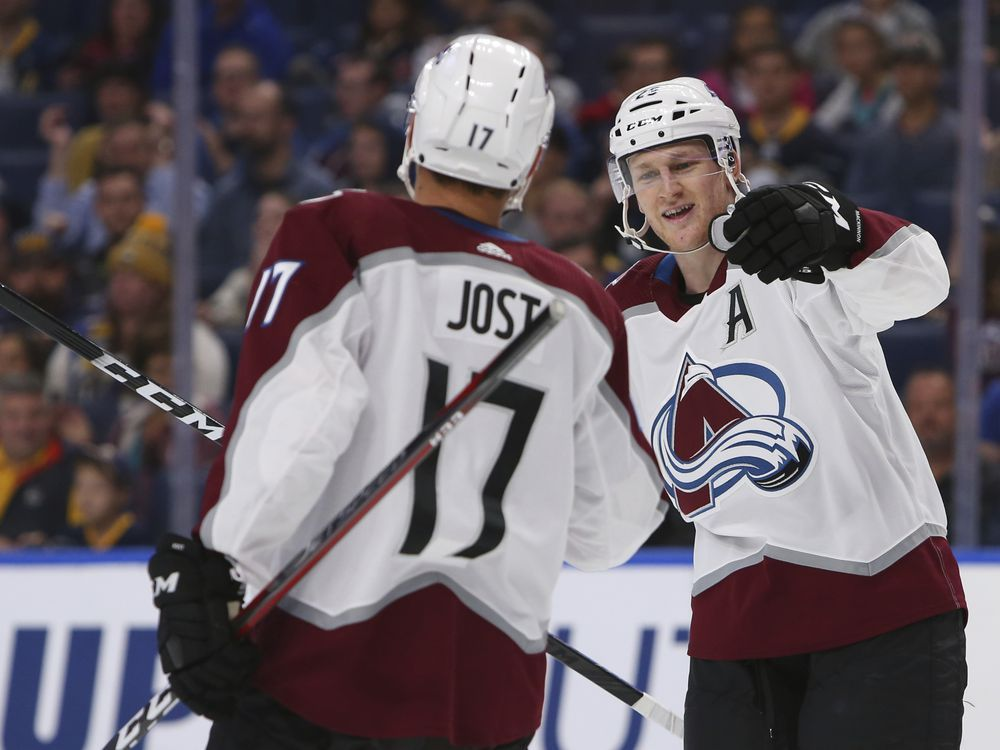 MacKinnon ups goal streak to 4, Avalanche beat Sabres 6-1 — National Post