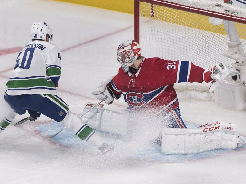 Carey Price looks healthy and rested while blanking the Canucks 2-0 — Montreal Gazette