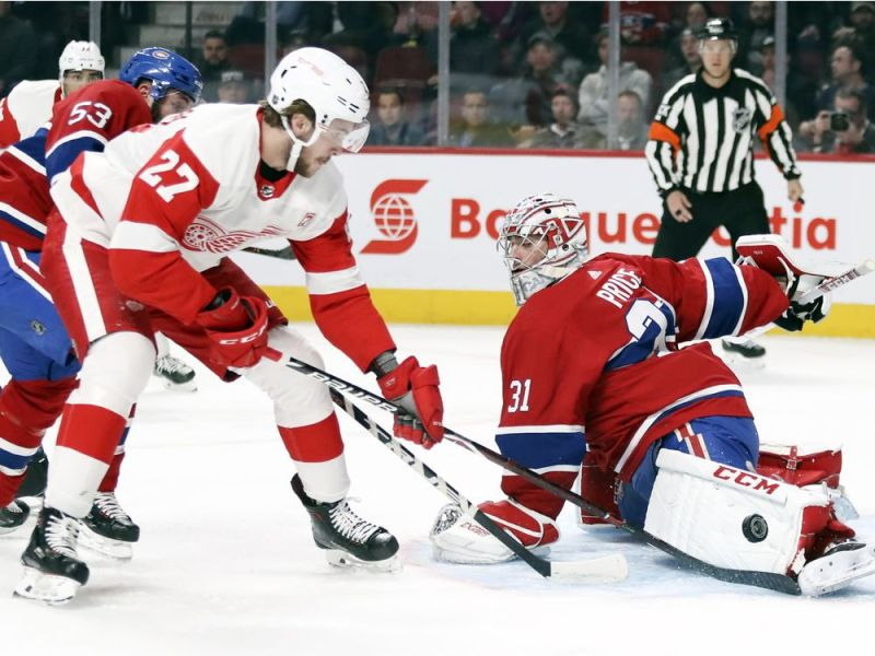 Carey Price sets franchise wins record as Canadiens beat Red Wings 3-1 — Montreal Gazette