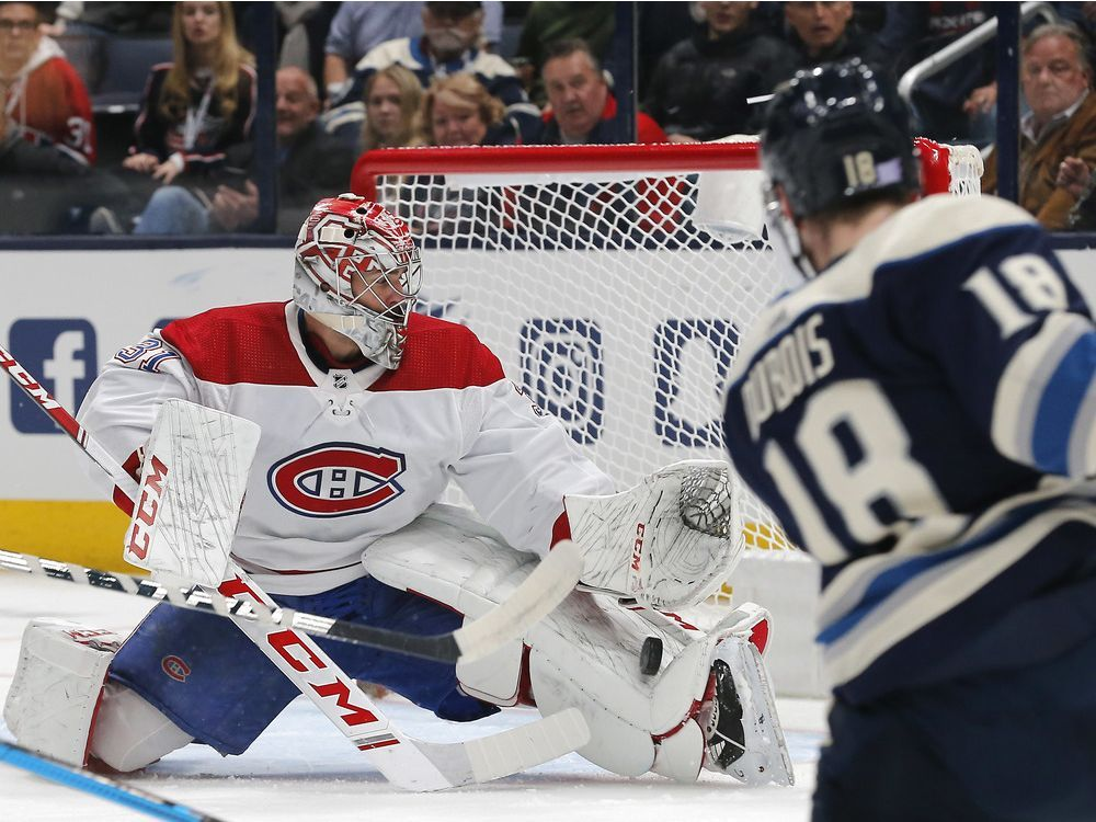Blue Jackets lower the boom on Canadiens in 5-2 victory in Columbus — Montreal Gazette