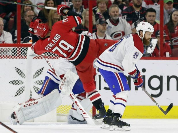 About last night … Carolina dominated, but Canadiens got a point — Montreal Gazette