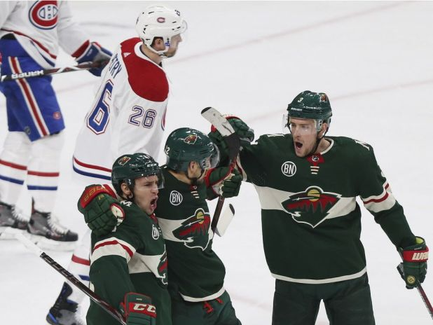 Canadiens blown out 7-1 in chilly Minnesota — Montreal Gazette