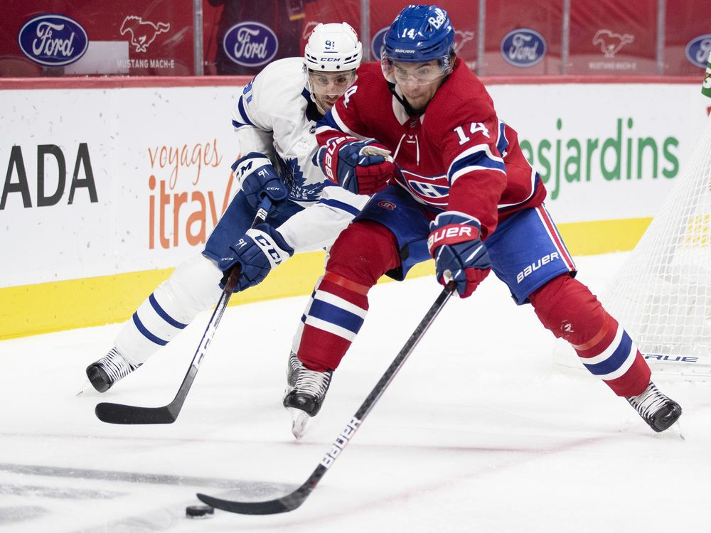 Liveblog replay: Habs fall 3-2 to Maple Leafs on Wednesday night — Montreal Gazette