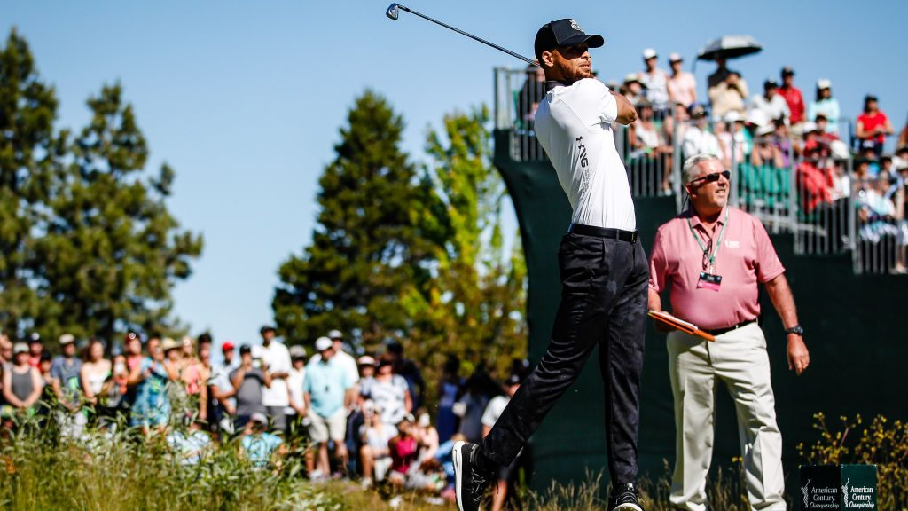 """Stephen Curry talks golf, his father, makes Masters' pick on """"Beyond the Fairway"""" podcast — ProBasketballTalk 