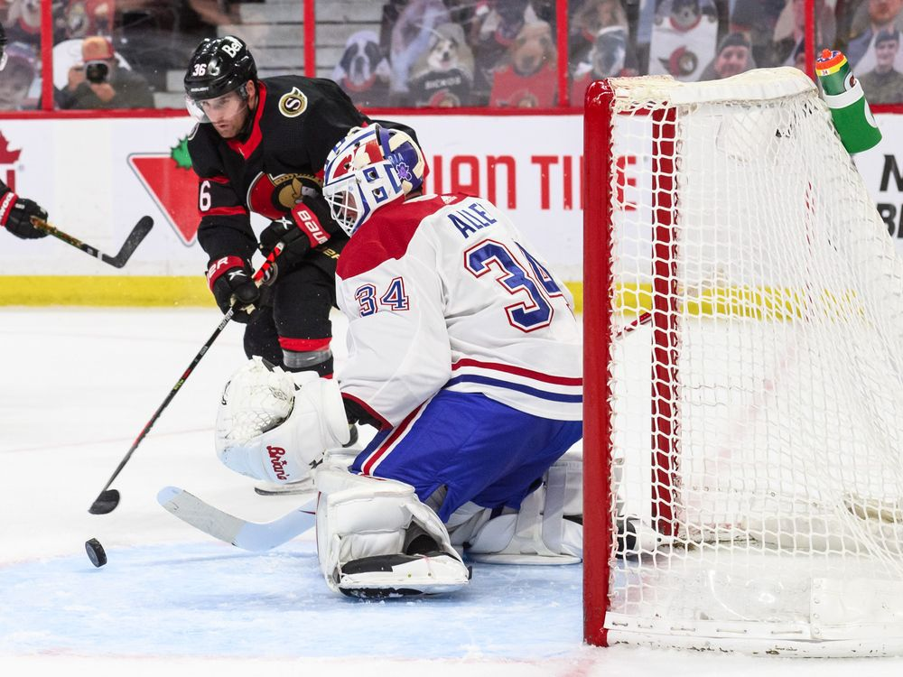 Canadiens stumble in push for playoffs with 5-1 loss to Senators — Montreal Gazette