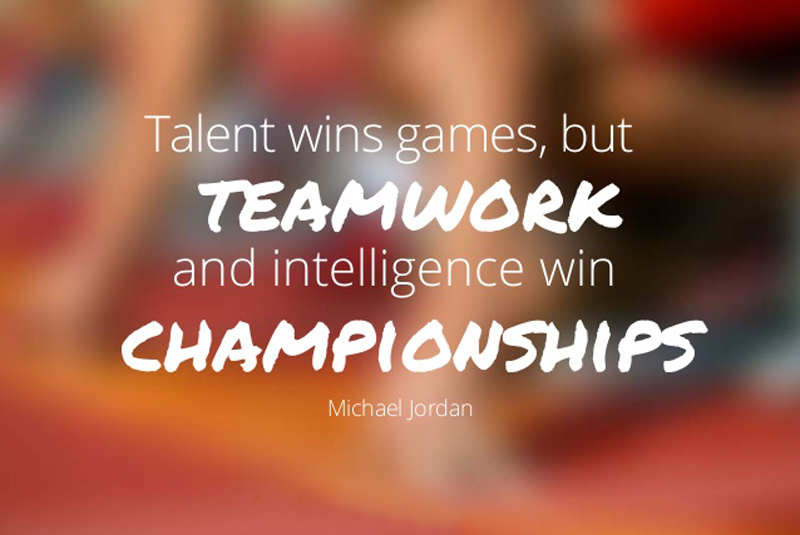 QUOTE ON HOW TO BE A WINNING TEAM!