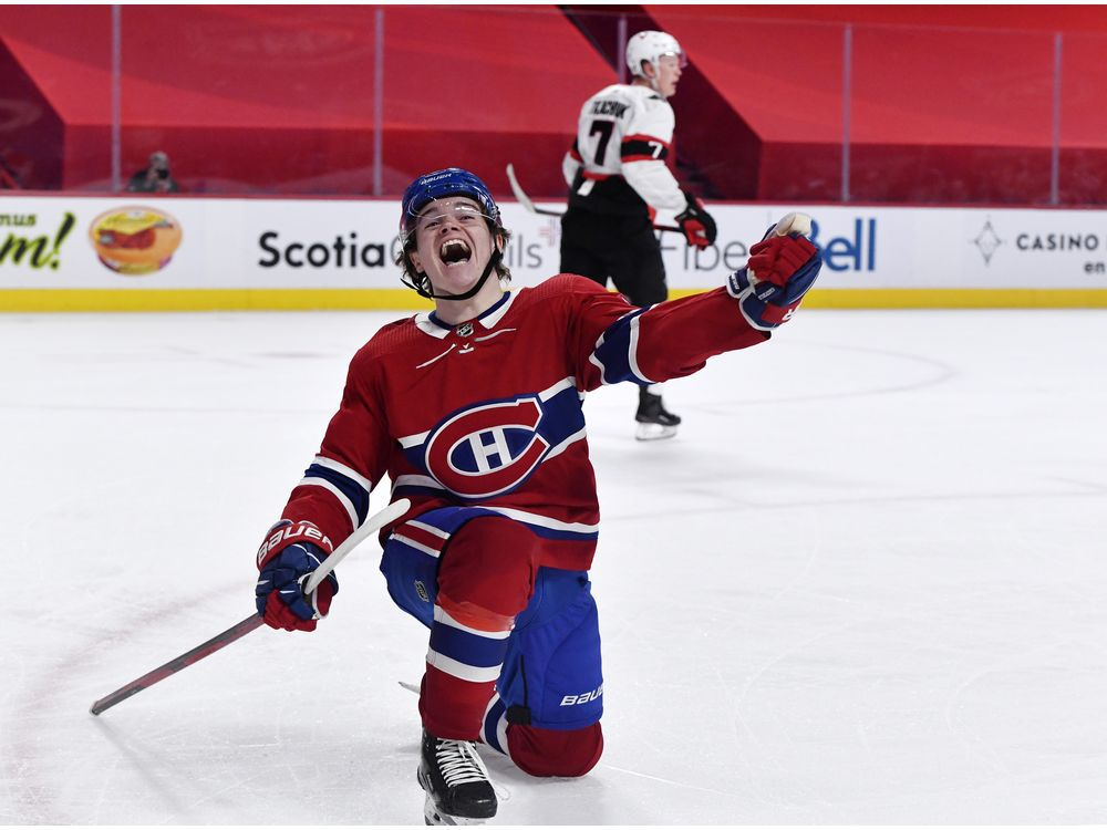 Canadiens Game Day: Here's looking at you, kid: Cole Caufield scores OT winner — Montreal Gazette