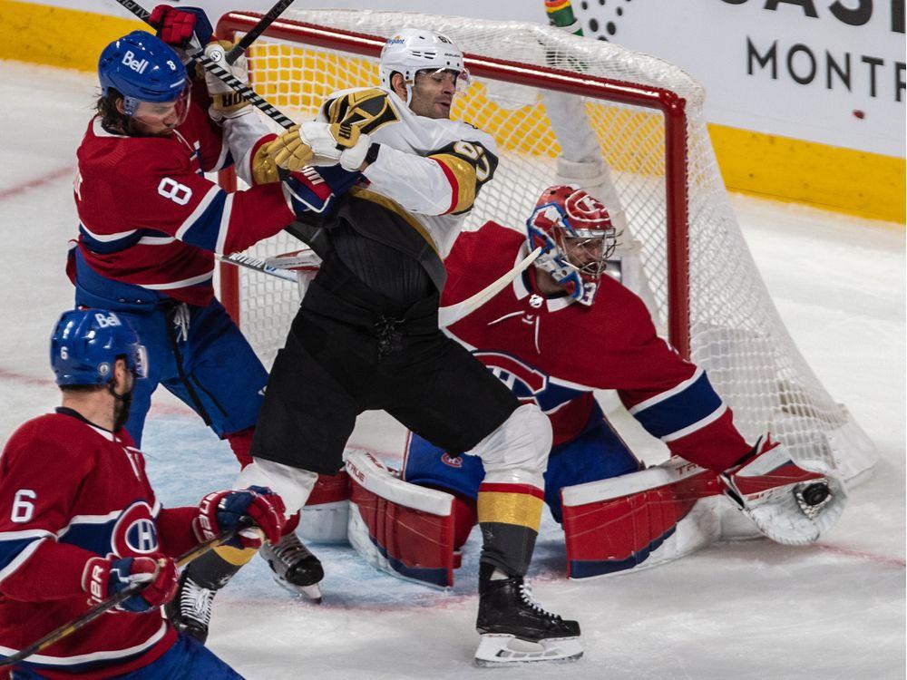 Liveblog replay: Vegas beat Habs 2-1 in OT to take Game 4 — Montreal Gazette