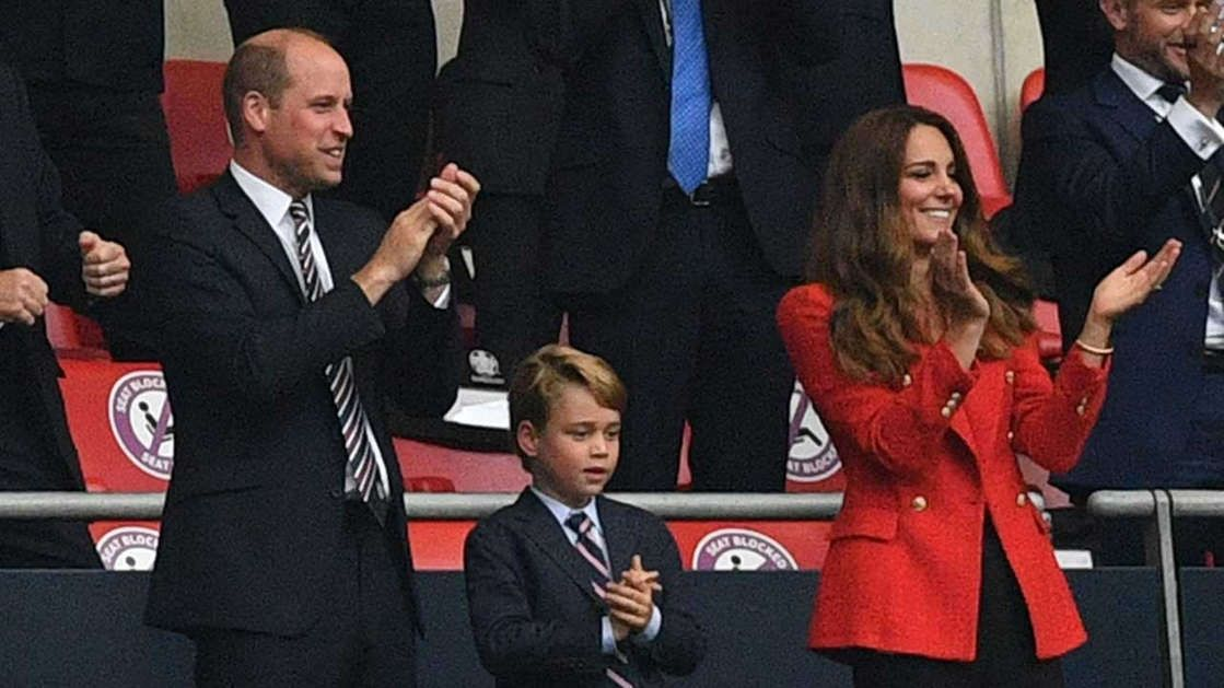 Prince William And Prince George Are Twinning At England's Soccer Match Against Germany — AMRAH