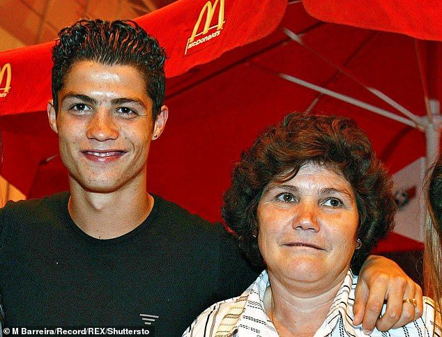 Cristiano Ronaldo first came to the UK as a pimply youth but he returns as a father-of-four — Distinct Today