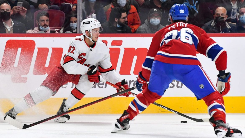 Kotkaniemi gets harsh reception, scores goal in return to Montreal — ProHockeyTalk   NBC Sports