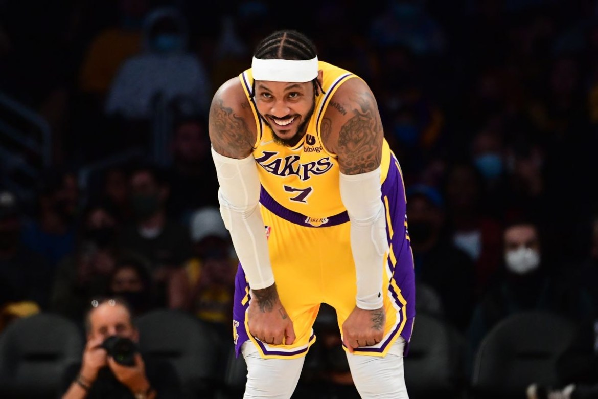 Carmelo Anthony's Historic Night Leads to Lakers First Win — KEE On Sports Media Group