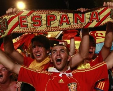 526353 espagne madrid supporters mondial 2010