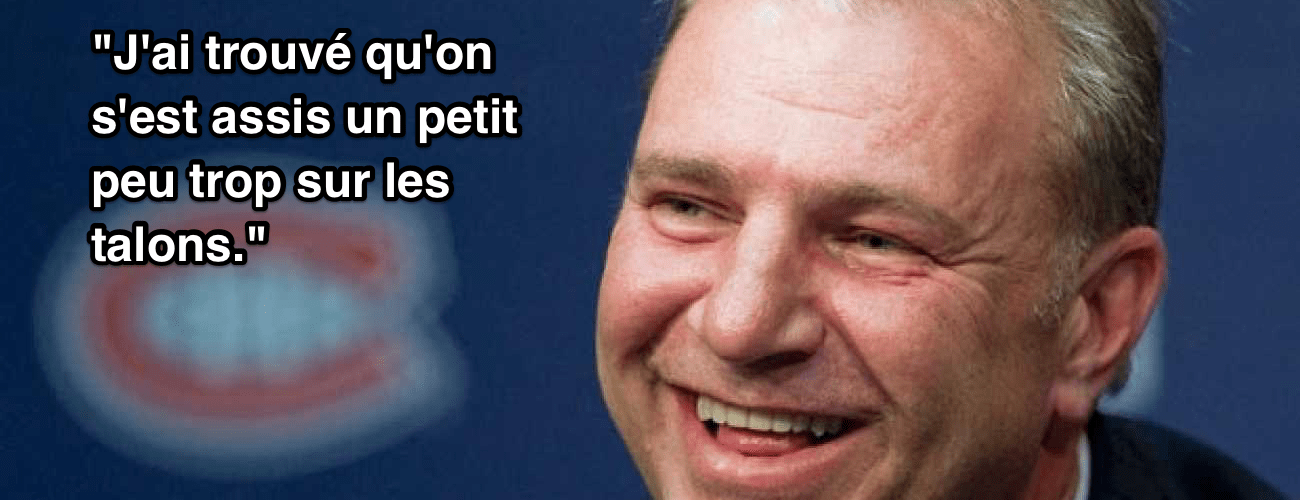 michel therrien talons