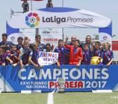 El FC Barcelona se hace con el título en LaLiga Promises 2017