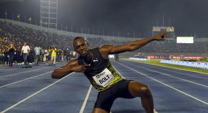 Usain Bolt se impone en su última carrera en Jamaica