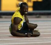 La última lesión de Usain Bolt