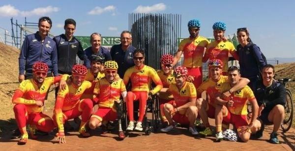La delegación española en el Campeonato del Mundo Paralímpico en Carretera