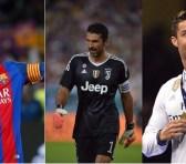 Messi, Buffon y Ronaldo, finalistas a Mejor Jugador del año UEFA