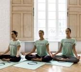 Free Yoga by Oysho en el Paseo del Prado