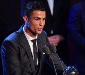 Cristiano Ronaldo vuelve a lo alto con un nuevo premio The Best