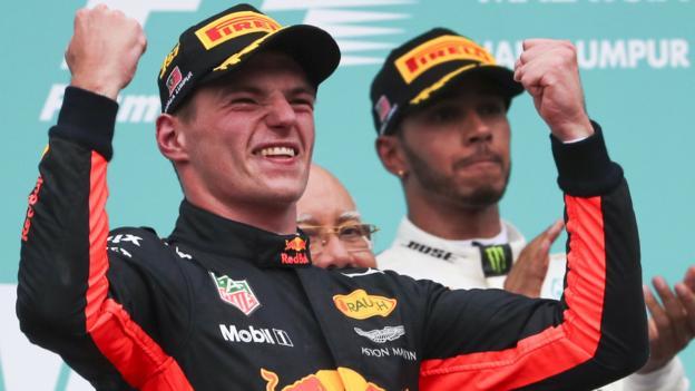Verstappen sorprende y llega a lo más alto del podio