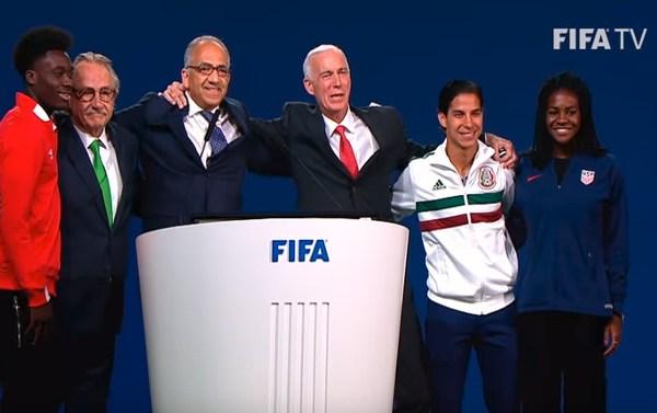 El Mundial de Fútbol 2026 se celebrará por primera vez en 3 países (Canadá, EEUU y México)
