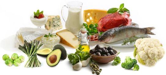 menù a basso contenuto di carboidrati e grassimo