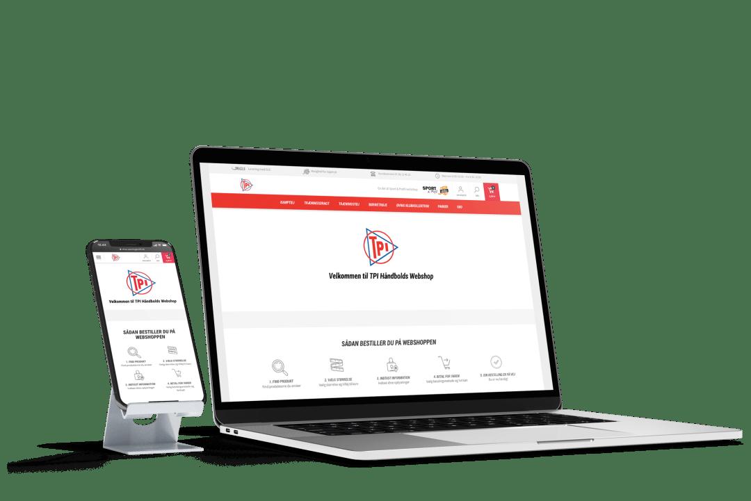 Webshop til klubber fra Sport & Profil