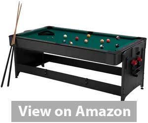 Fat Cat Pockey 3-in-1 Air Hockey, Billiards,& Table Tennis Table Review