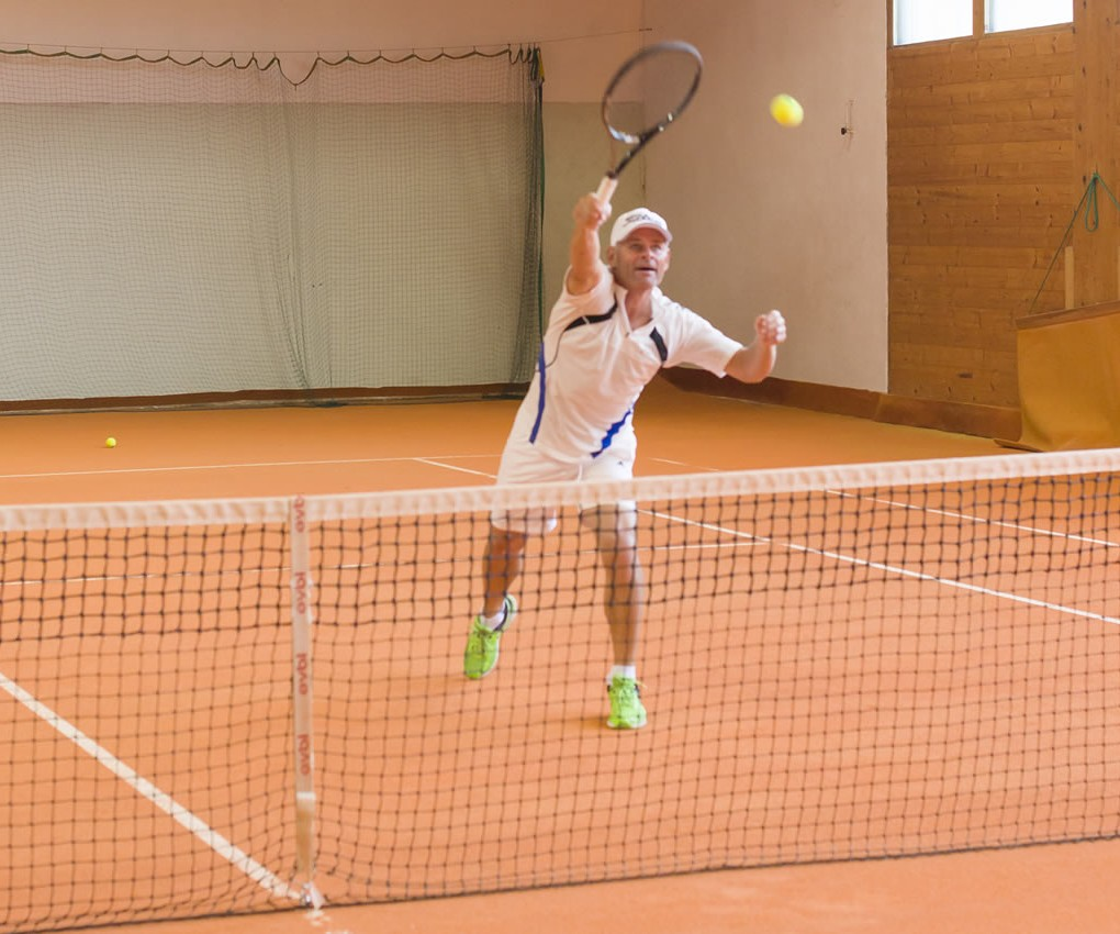 Tennis Teppich Tennishalle Sportpension Goldegg