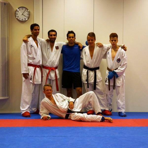 karate ahmed shitoryu kofukan karatecenter patrick rapp pt personlig träning tränare coach sm landslag edis nehro garip jensen shotokan wado class