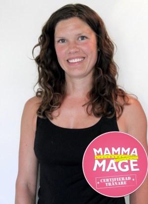 Jannica Swärdh mammamage västerås pt tränare träning personlig personal trainer certifierad graviditet