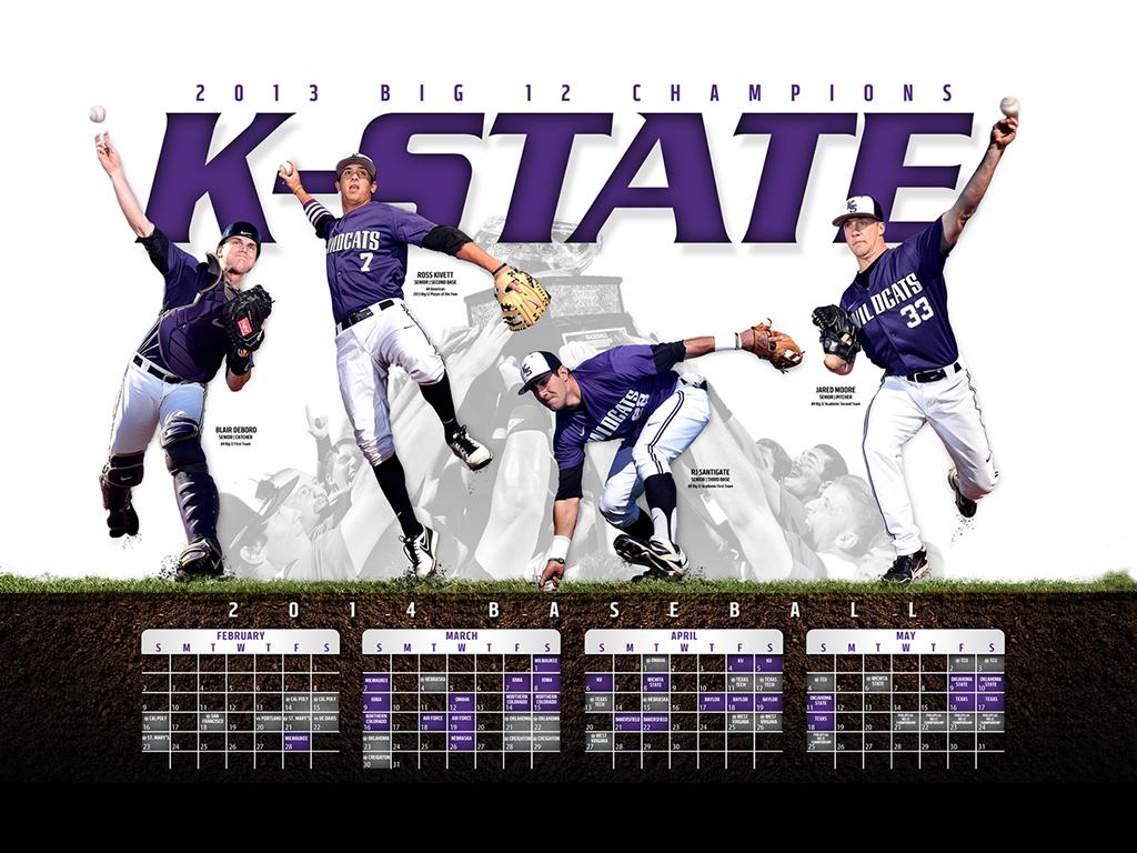 The 2014 SportPosterSwag College #BaseballPoster