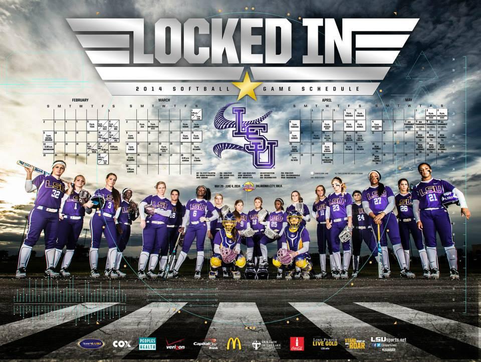 The Full 2014 SportPosterSwag College SoftballPoster