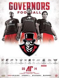 Austin Peay Football Poster