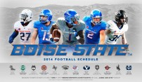 Boise State Spring Football Poster