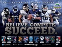 Monmouth Football Poster