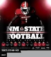 NMSU Football Poster