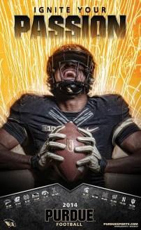 Purdue Football Poster
