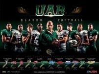 UAB Football Poster