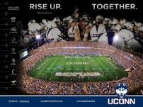 UConn Football Spring Poster