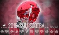 SMU Football Spring Poster